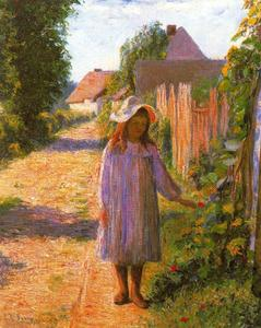 Lilla Cabot Perry - Alicia en el Lane (Alice Perry)