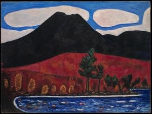Marsden Hartley - Monte Katahdin, Maine, No. 2