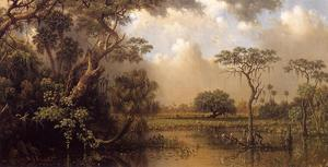 Martin Johnson Heade - El gran pantano de la Florida