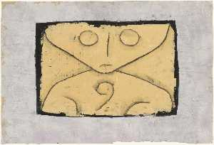 Paul Klee - carta fantasma