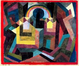 Paul Klee - con el arcoiris