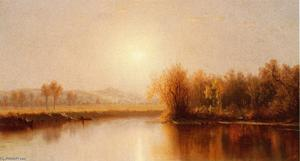 Sanford Robinson Gifford - Indian Summer n Clawerack Creek