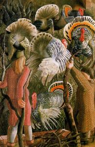 Stanley Spencer - Pavos 1