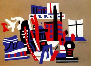 Stuart Davis - Nueva York Waterfront