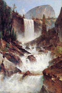 Thomas Hill - Vernal Falls, Yosemite