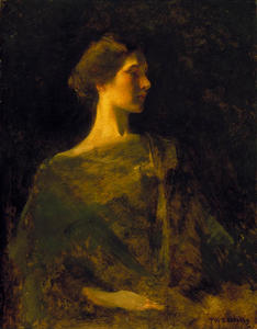 Thomas Wilmer Dewing - Alma