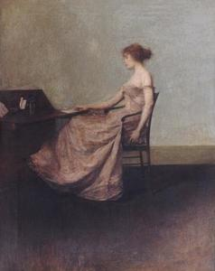 Thomas Wilmer Dewing - la letra