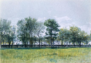 William Stanley Haseltine - Coppet, el lago de Ginebra 1
