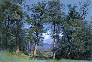 William Stanley Haseltine - Coppet, el lago de Ginebra