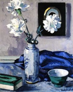 Francis Campbell Boileau Cadell - Claveles