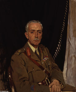William Newenham Montague Orpen - Cuarto Charles Sackville West Baron Sackville
