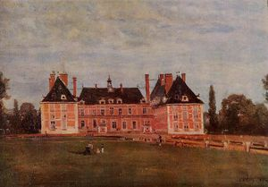Jean Baptiste Camille Corot - Chateau de Rosny