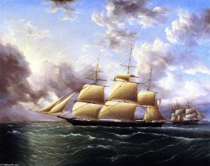 James Edward Buttersworth - El Clipper