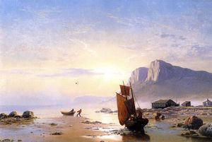 William Bradford - Costa de Labrador