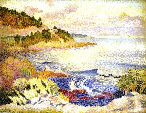 Henri Edmond Cross - Costa de la Provenza