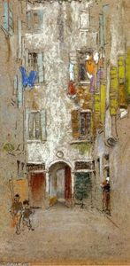James Abbott Mcneill Whistler - Corte del Paradiso