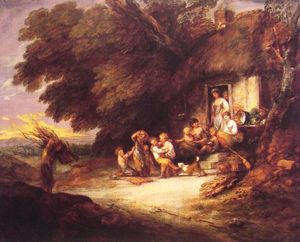 Thomas Gainsborough - La Puerta Cottage