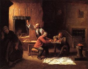 Jonathan Eastman Johnson - Los falsificadores