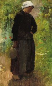 Cecilia Beaux - un campo woman femenina
