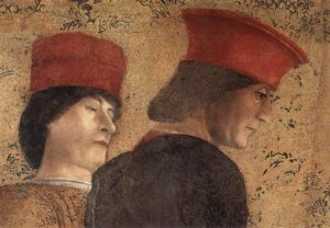 Andrea Mantegna - El Court of Mantua ( detalle )