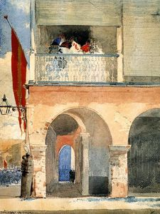 Winslow Homer - Customs House, de Santiago de Cuba