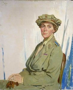 William Newenham Montague Orpen - Dame Helen Gwynne-Vaughan