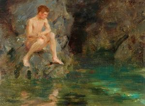 Henry Scott Tuke - David Bone