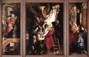 Peter Paul Rubens - Descendimiento de la Cruz
