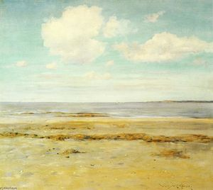William Merritt Chase - La playa desierta