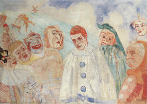 James Ensor - el `despair` de Pierrot