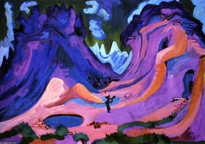 Ernst Ludwig Kirchner - Muere Amselfuh