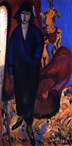 Ernst Ludwig Kirchner - Muere Russin