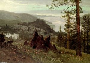 Albert Bierstadt - división lake , California