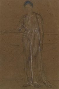 James Abbott Mcneill Whistler - Figura drapeado, Permanente