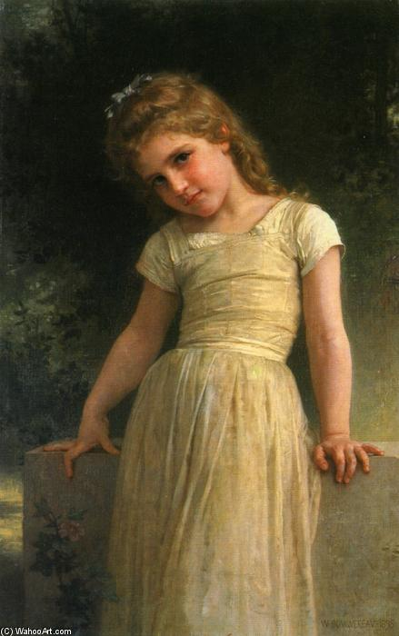 Elpieglerie, óleo sobre lienzo de William Adolphe Bouguereau (1825-1905, France)