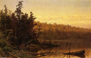 Hugh Bolton Jones - Tarde en el Severn