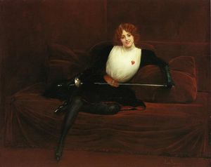 Jean Georges Béraud - El Fencer
