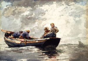 Winslow Homer - Fisher Folk en Dory