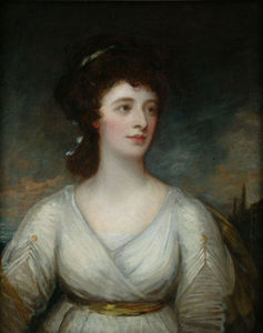 George Romney - Frances Louisa Largo