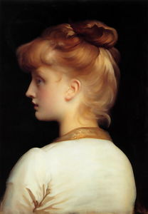 Lord Frederic Leighton - Una Chica