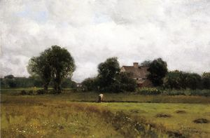 Dwight William Tryon - Glastonbury Meadows