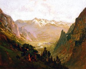 William Keith - Sierra Alta cañón