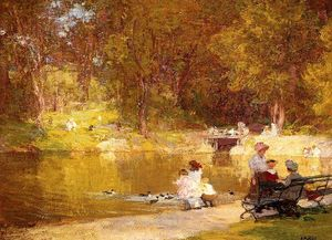Edward Henry Potthast - En Central Park