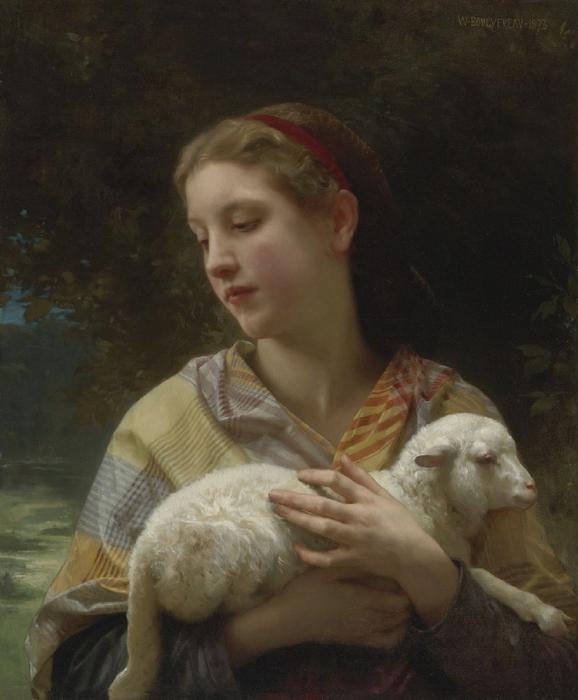 Inocencia de William Adolphe Bouguereau (1825-1905, France)
