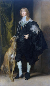 Anthony Van Dyck - retrato de james Stuart , duque de richmond y lenox