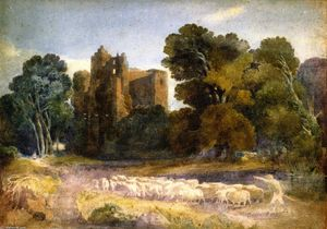 David Cox - Castillo de Kenilworth