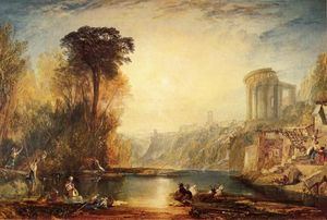 William Turner - Paisaje : composición de tivoli