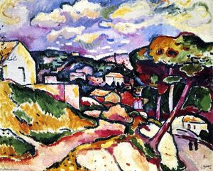 Georges Braque - L Estaque