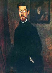 Amedeo Modigliani - Retrato de Paul Alexandre