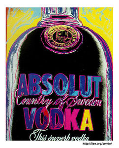 Andy Warhol - vodka absoluto
